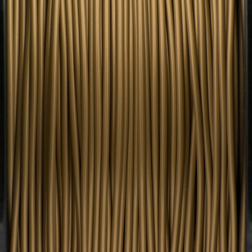 A close up of our golden filaments.