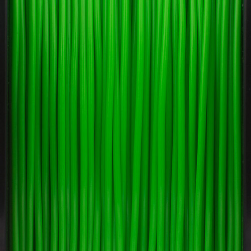 A close up of our parakeet green filaments.