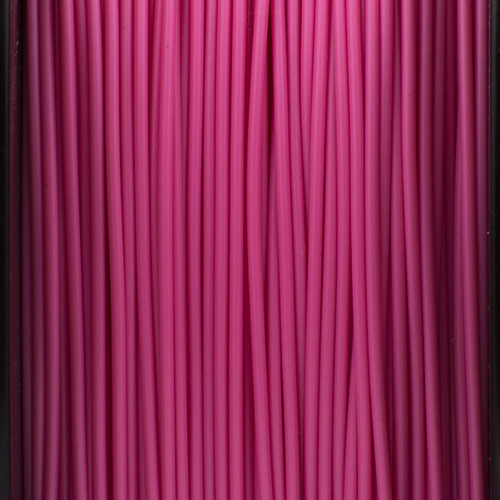 A close up of our pink filaments.