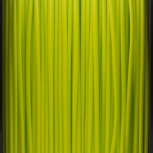 A close up of our sublime green filaments.