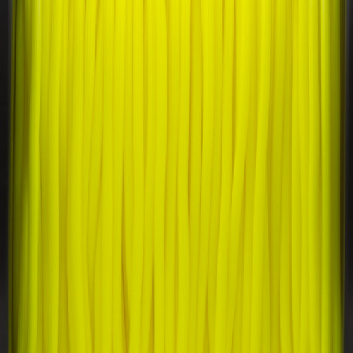 A close up of our yellow filaments.