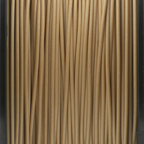 A close up of our woodfill filaments.