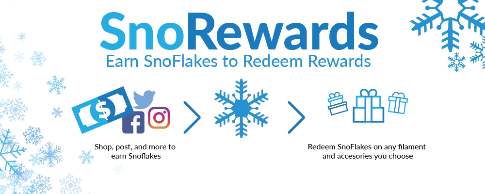 Click here to check out our rewards program, SnoRewards!