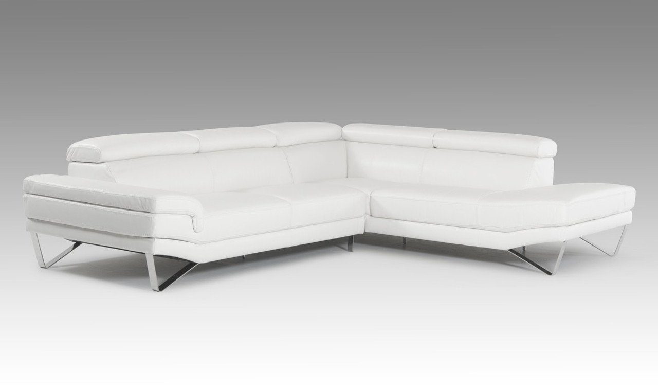 Fine David Ferrari Aria Modern White Italian Leather Sectional Sofa Andrewgaddart Wooden Chair Designs For Living Room Andrewgaddartcom