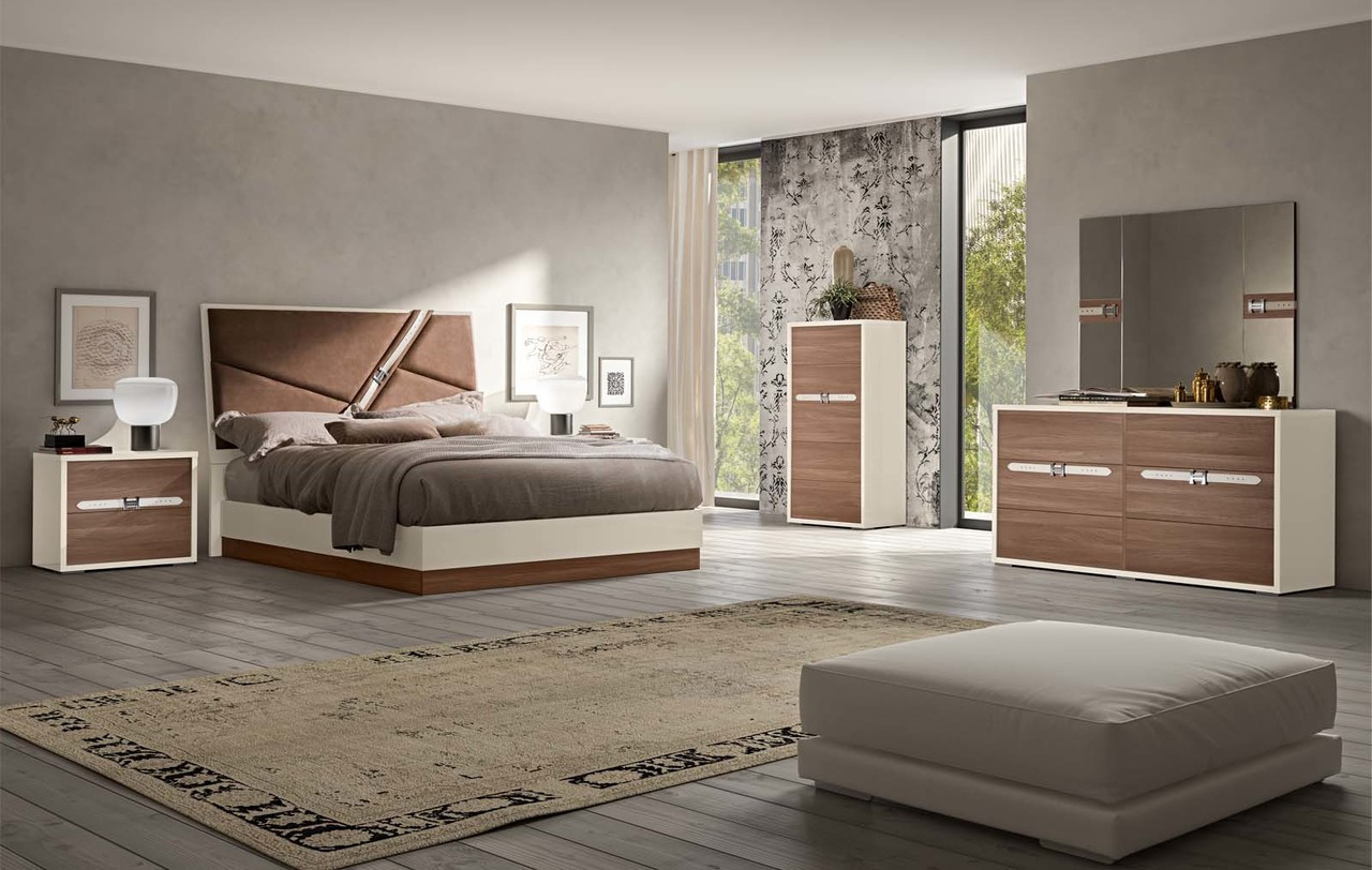 Status Italy Evolution Elegant Modern Bedroom Set