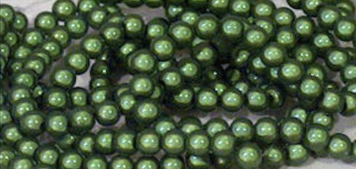 1 Strand Brown Acrylic 10mm Japanese Round MIRACLE Beads *