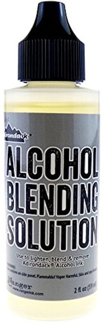 1 Ranger Adirondack Alcohol Blending Solution, 2-Ounce Bottle, For Use with Inks