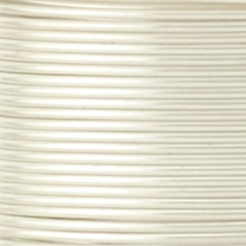 1/4lb Spool Artistic Wire Egg White 18 Gauge Permanently Colored Wire *