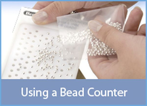 1 Beadalon Bead Counter For 100 Beads Size 4-5mm