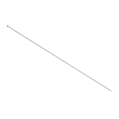 10 Stainless Steel 6 1/4 Inches Long 19 Gauge Hat Brooch Stick Pins