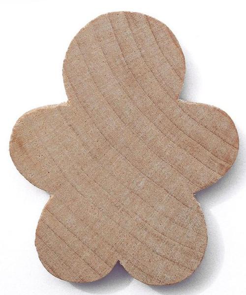 "10 Hardwood 1 5/8"" Tall Gingerbread Boy Cutouts"