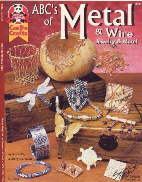 """Book """"ABC's of Metal & Wire Jewelry & More""""  Suzanne McNeill Designs"""