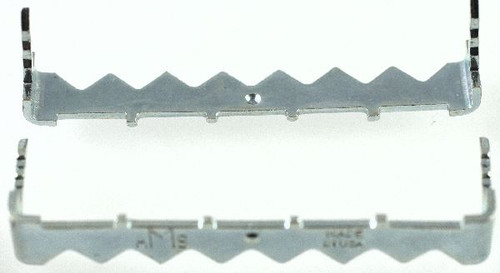 """10 Large 2"""" x 5/16"""" Silver No Nail Sawtooth Hangers"""