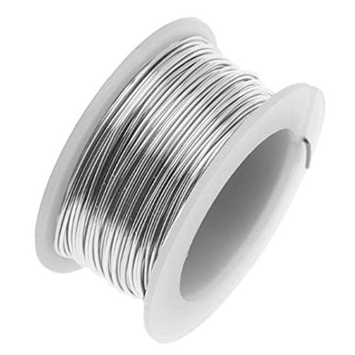 20 Yard Spool Tarnish Resistant Stainless Steel 24 Gauge Wrapping Wire