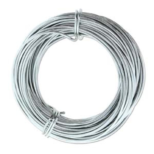 39 Feet Grey 18 Gauge Aluminum Wire for Wire Wrapping