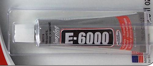0.5 Ounce Tube E6000 Clear Jewelry & Craft Multi Purpose Adhesive