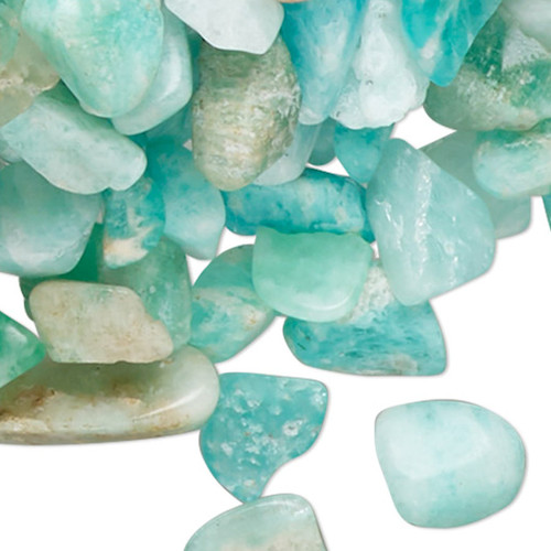 2 Ounce Gemstone AMAZONITE Natural Small Inlay Chips UNDRILLED Embellishment