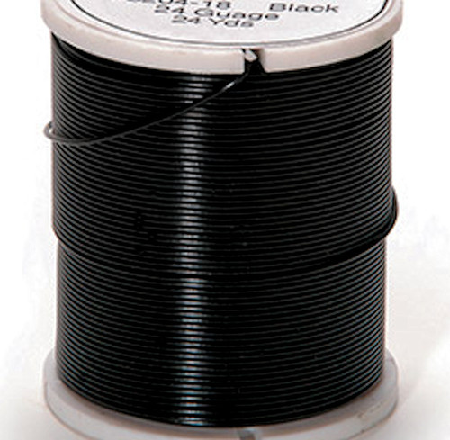 24 Yard Spool Iron Black 26 Gauge Craft Wrapping Wire *