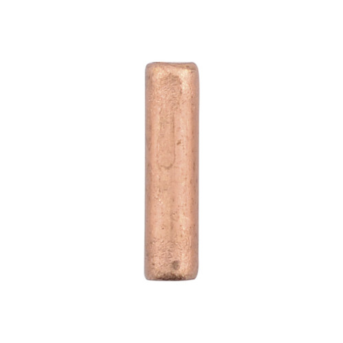 55 LARGE Bare Copper Seamless 10mm Tube Crimp Bead with 1.3mm ID For 16 Ga Wire