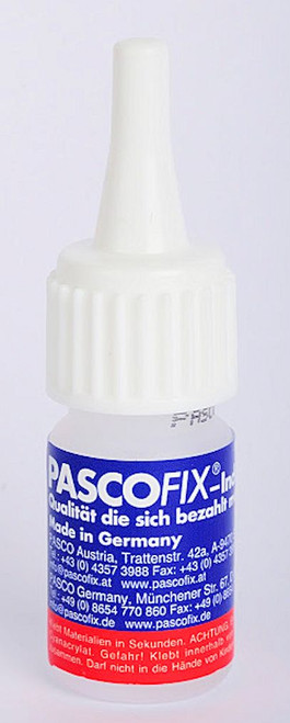 10 Gram Bottle Pasco Fix Strong Instant Jewelry Adhesive ~ Clear Bond Glue