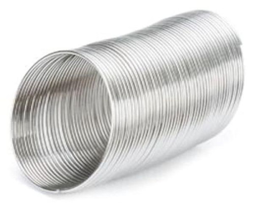 0.25oz (48 Loops) Silver Stainless Steel 3/4 Inch RING Memory Wire