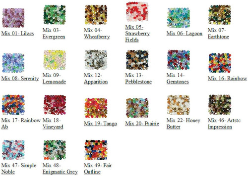 144 Preciosa Czech Crystal 4mm Rondell Bicone Mixes  ~ Many Available