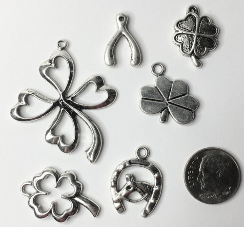 12 Antiqued Gold Plated Pewter Maple Leaf Charms *
