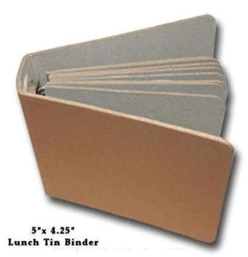 1 Maya Road Altered Art Chipboard Lunch Tin Binder Album *