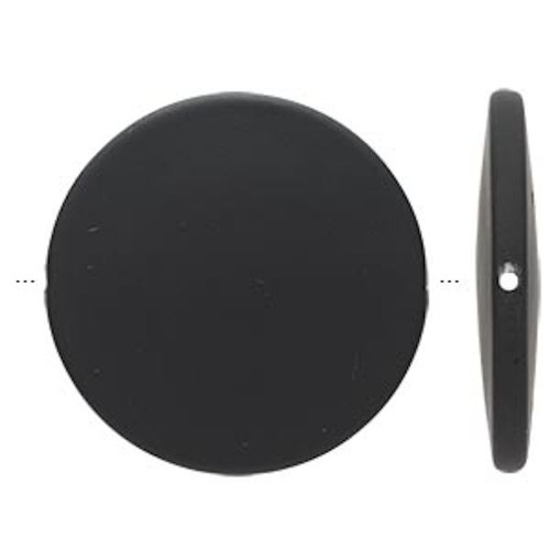 60 Matte Purple Rubberized Coating Acrylic 17x12mm Oval Beads *
