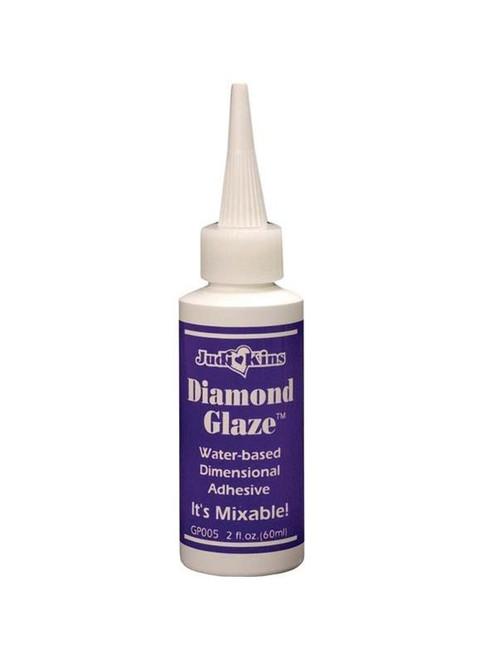 2 Ounce Bottle Judikins Diamond Glaze ~ Dimensional Adhesive