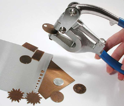 1 Bead Smith Metal Hole Mighty Punch Kit with 7 Punch Sizes Use Up to 16 Gauge