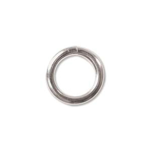 25 Sterling Silver JUMPLOCK 10mm Round Jumprings that Lock Closed