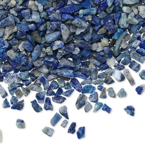 50 Grams Blue Lapis Lazuli Natural Mini Hand Cut UNDRILLED Chips ~  Embellishment