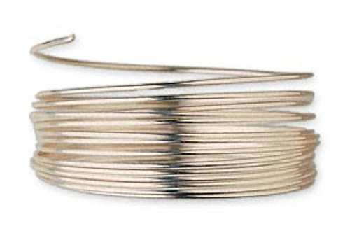 5 Feet 12KT Gold Filled 1/2 Hard 26 Gauge Round Wrapping Wire