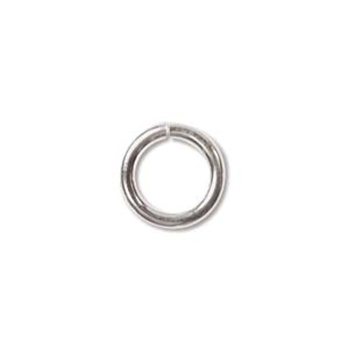 50 Sterling Silver JUMPLOCK 8mm Round Jumprings that LOCK Closed