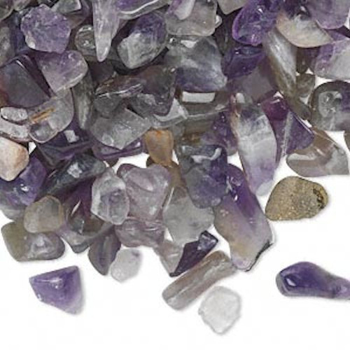 50 Grams Amethyst Natural Small UNDRILLED Chips ~  Embellishment *