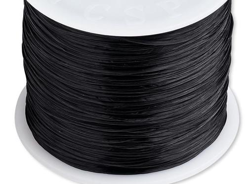 150 Foot Spool Black 0.5mm Diameter Stretch Elastic Floss Cord