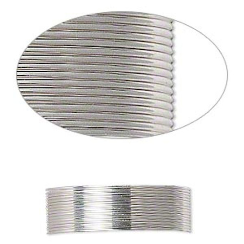 25 Foot Spool Sterling Silver 24 Gauge Dead Soft Round Wrapping Wire