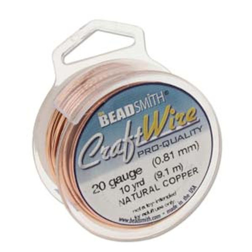 10 Yard Spool Tarnish Resistant Copper 20 Gauge Wrapping Wire