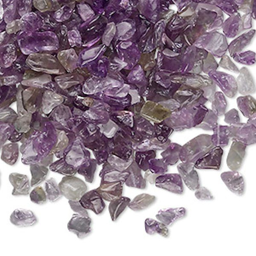 50 Grams Amethyst Natural Mini Hand Cut UNDRILLED Chips ~  Embellishment