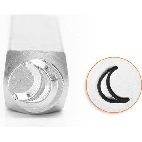 1 ImpressArt Carbon Tool Steel  6mm  CRESCENT MOON Metal Stamp Punch
