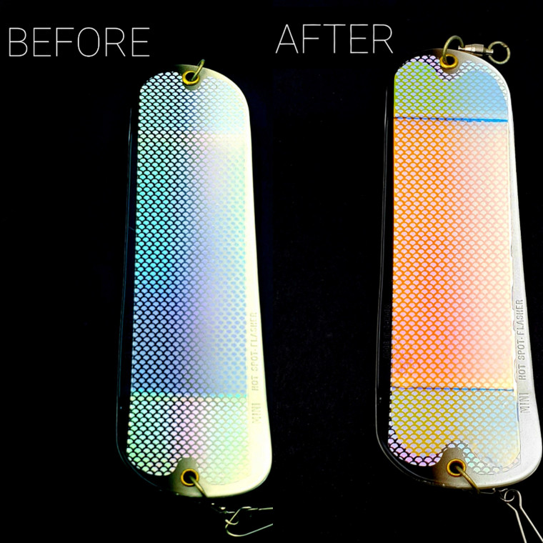 TRANSPARENT UV/Moon Jelly/Super Pearl Authentic  Lure Tape