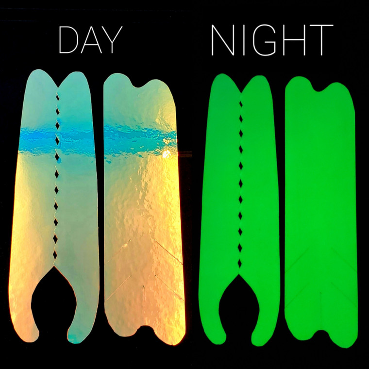 GLOW BACK UV/Moon Jelly/Super Pearl Authentic  Lure Tape