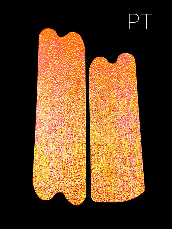 Crushed Pearl Orange Authentic Lure Tape