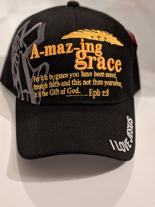 Amazing Grace Black Cap
