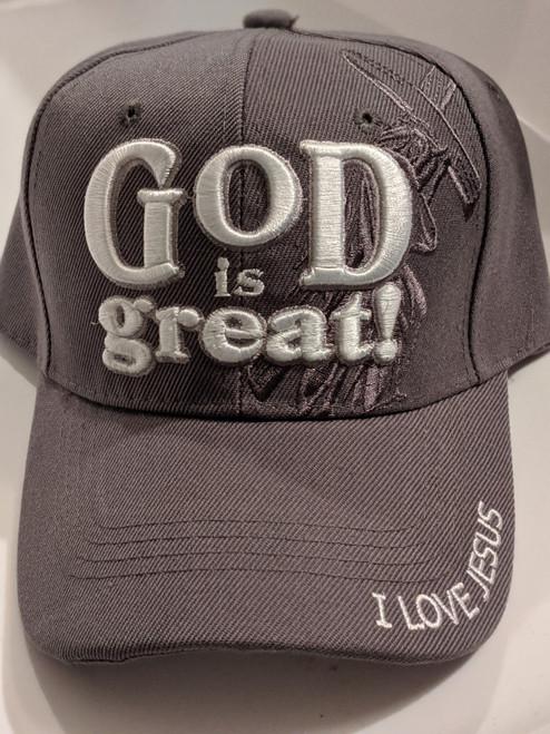 God Is Great Gray Cap