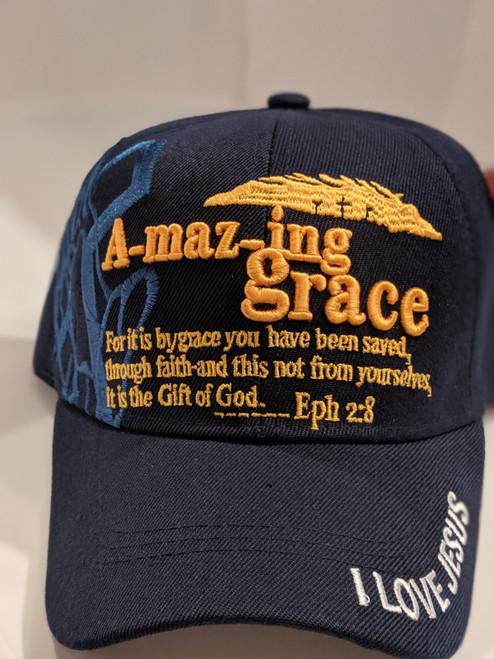 Amazing Grace Navy Cap