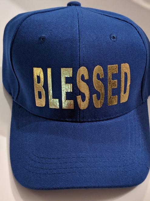 Blessed Royal Blue Cap