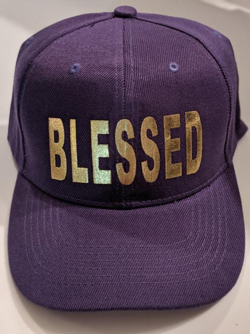 Blessed Purple Cap