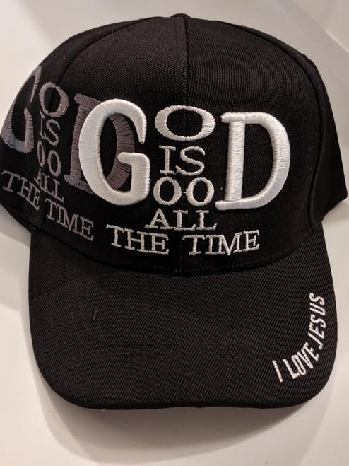 God Is Good Black Cap